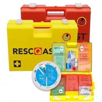 Crisicom levert u de Resq-Assist Verbandkoffer.